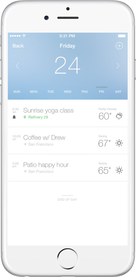 Fresh Air Weather: The best weather app for iOS